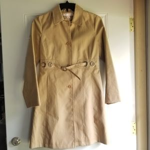 VIA SPIGA Belted Trench Coat